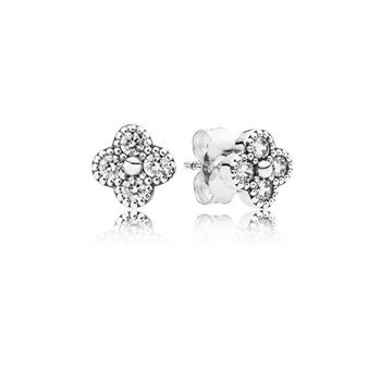 Pandora Dazzling Daisy Stud Earrings, Clear CZ 290570CZ